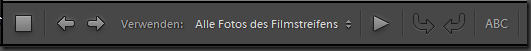 Diashow toolbar